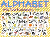 Alphabet for Classroom with real pictures