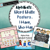 Alphabet & Number Posters Bundle