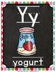 Alphabet Picture Cards & Flashcards {Argyle}