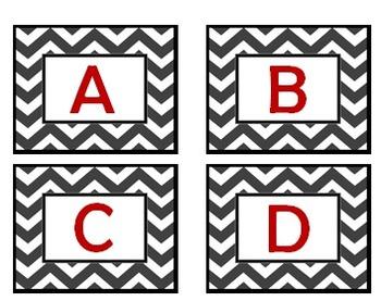Alphabet for Pocket Chart