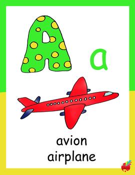 Alphabet  français/anglais french/english