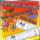 Alphabet Hats and Bracelets Bundle Megapack