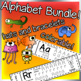 Alphabet Hats and Bracelets Bundle Megapack