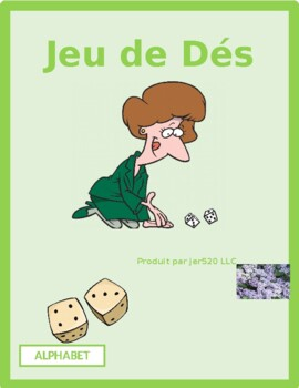 Alphabet in French Dice Game