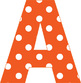 Alphabet in Polka Dots - Two Alphabets - Pastels and Brights - PDF - PNG