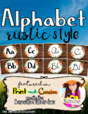 Alphabet in Print and Cursive