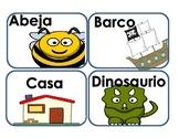 Alphabet in Spanish!