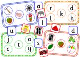 Alphabet initial sound bingo games