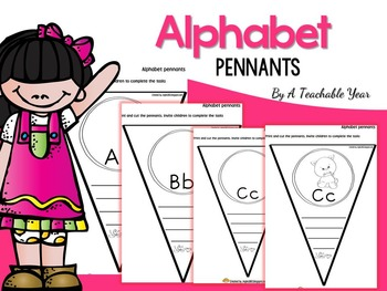 Alphabet Interactive Pennants
