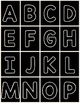 Alphabet (letter) Cards for Centers