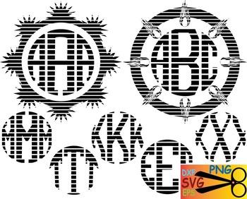 Alphabet letter EPS SVG DXF school teachers Logo monogram cutting text abc -09S