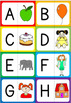 Alphabet - beginning sound - letter-picture matching cards