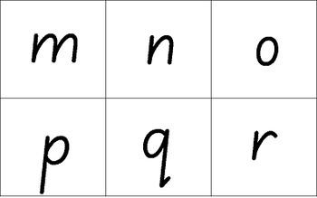 Handwriting Worksheets SAMPLE A to Z – Australian & NZ fonts