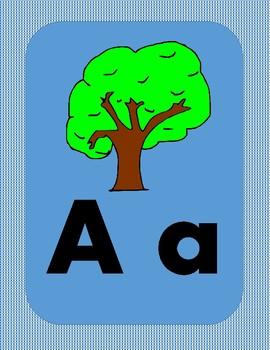 Alphabet letters in Spanish