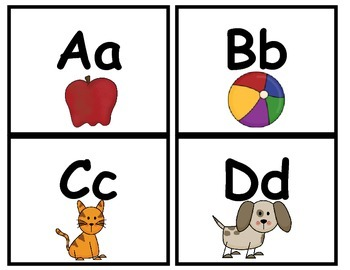 Benchmark Literacy Alphabet linking chart, table tags, word wall