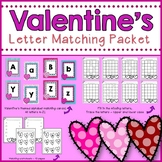 Alphabet matching-Valentine's Themed