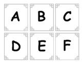 Alphabet matching activity