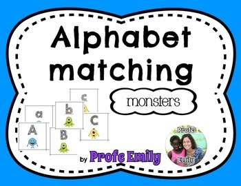 Spanish bilingual alphabet case matching (Monster)