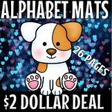 Preschool Alphabet Mats