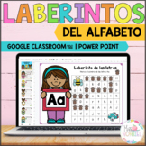 Alphabet mazes in Spanish for Google Classroom™, Actividades del alfabeto