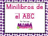 Alphabet mini-books spanish ABC | Mini-libros del alfabeto