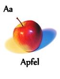 Alphabet in German Posters