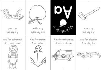 Alphabet - beginning sound - minibooks