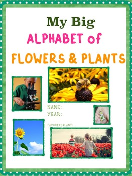 Alphabet of Flowers & Plants: Letters A - D