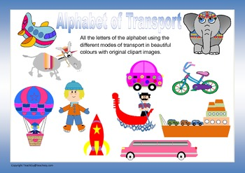 Alphabet of Transport modes