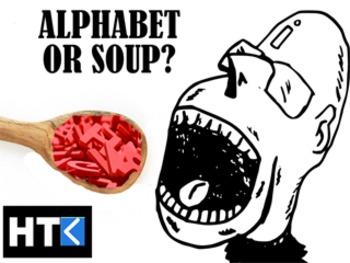 Alphabet or Soup?