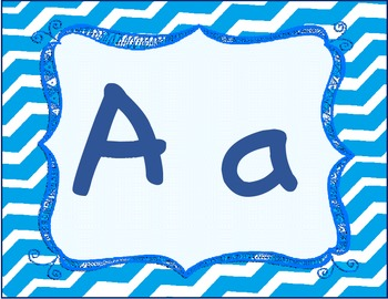 Alphabet or Word Wall Cards