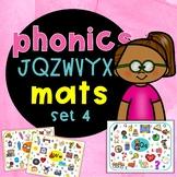 Alphabet phonics mats JZWVYQX   Jolly Phonics activities
