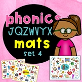 Alphabet phonics mats JZWVYQX | Jolly Phonics activities