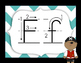 Alphabet pirates consonnes