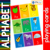 Alphabet - beginning sound - playing cards