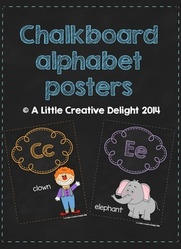 Alphabet posters, alphabet cards, colour and tone posters-