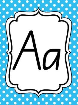 Alphabet posters- spots