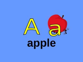 Alphabet powerpoint a-m