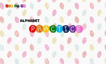 Alphabet practice printables (free)