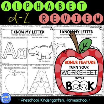 Alphabet practice_2in1_Review+Book