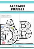 Alphabet puzzles: Learning the letters of the alphabet