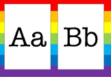 Alphabet rainbow A-Z