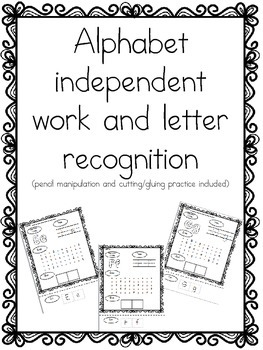 Alphabet independent work bundle