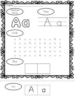 Alphabet independent work bundle