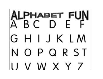 Alphabet song fun