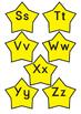 Alphabet stars