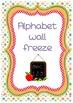 Alphabet wall freeze