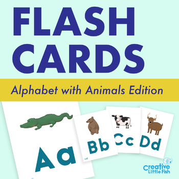 Alphabet Cards with Animals