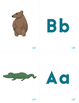 Alphabet Cards with Animals - Matching Card Game