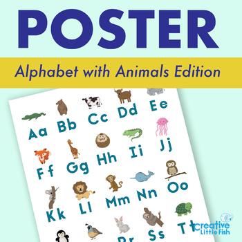 Alphabet Poster with Animals